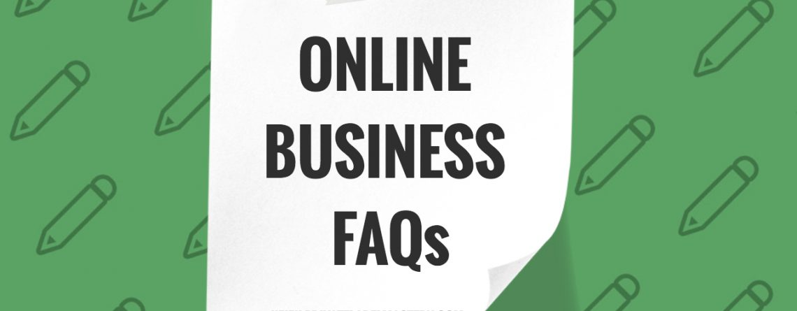 Frequently Asked Questions About Internet or Online
